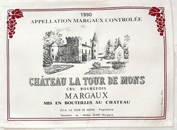 Bordeaux placemats