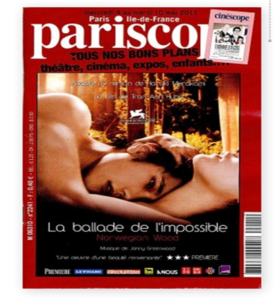 Pariscope May 2011