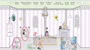 Laduree web site 2011