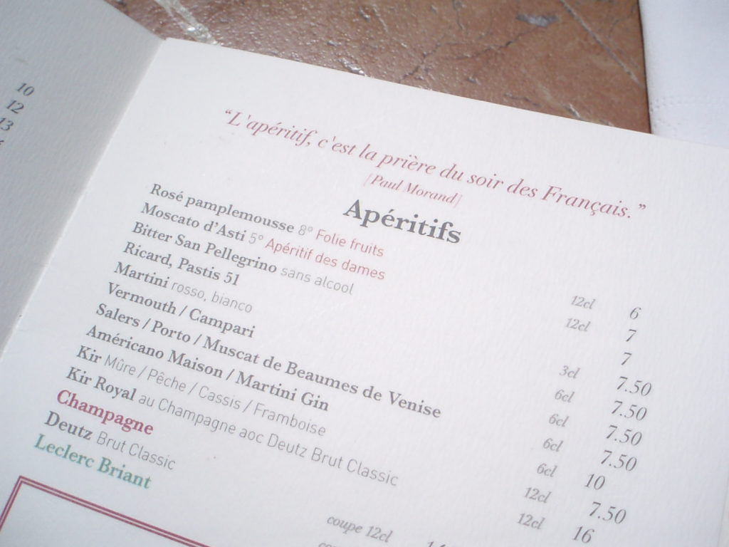 Elizabeth 39 S Blog A Short Guide To French Aperitifs
