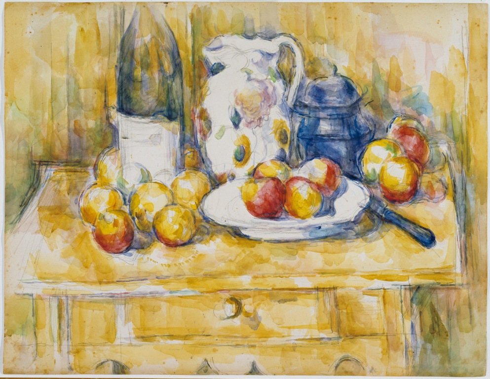 Paul Cezanne_Still Life with Apples on a Sideboardcomp