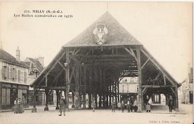 233 - MILLY (S-et-O) - Les Halles